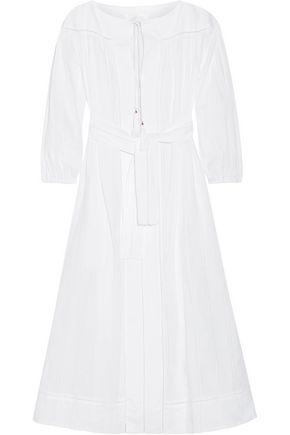 ZIMMERMANN Oleander lace-trimmed cotton-voile midi dress