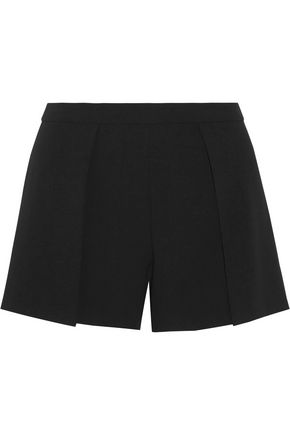 ALICE + OLIVIA Larissa draped crepe shorts