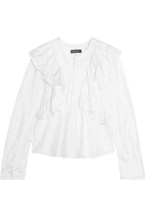 ISABEL MARANT Arlington ruffled taffeta blouse