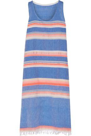 MASTER&MUSE x LEMLEM Elsi striped cotton-blend gauze dress