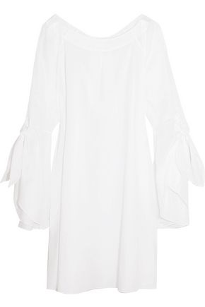 THREE GRACES LONDON Emilia cotton-poplin dress