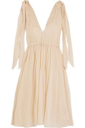 THREE GRACES LONDON Nikiya cotton-mousseline dress
