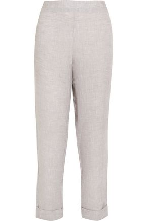 THREE GRACES LONDON Arabella linen pants