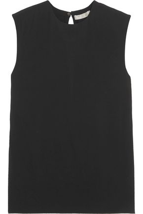 VINCE. Stretch-crepe top