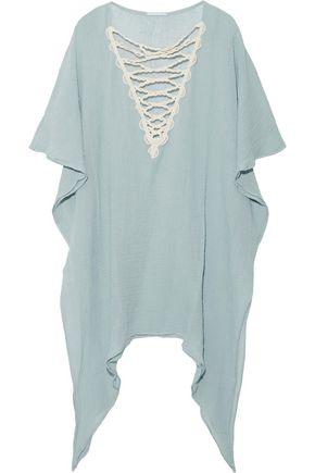 EBERJEY Sea Breeze Isadora cotton-gauze dress