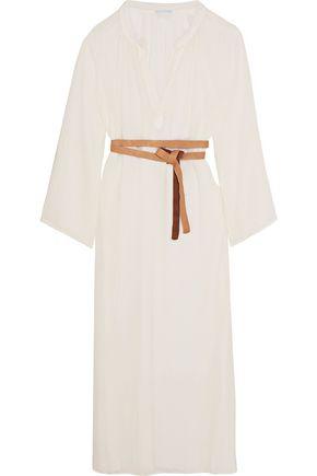 EBERJEY Summer Of Love Haven crinkled cotton-gauze dress