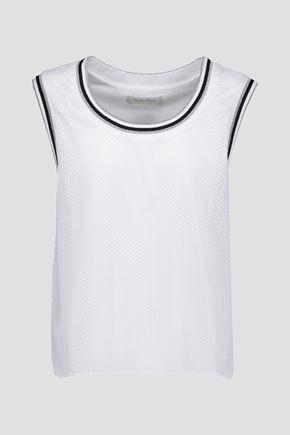 PIERRE BALMAIN Metallic mesh T-shirt