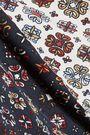 10 CROSBY DEREK LAM Paneled printed silk top