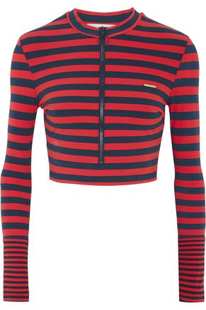 STELLA McCARTNEY Striped rash guard