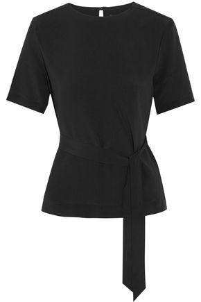 VANESSA SEWARD Delight silk-crepe top