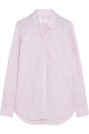VICTORIA BECKHAM Pinstriped cotton-poplin shirt