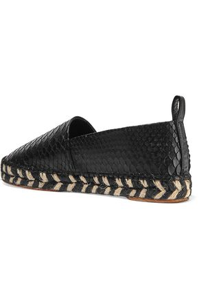 PROENZA SCHOULER Leather espadrilles