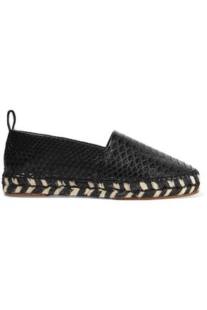 Proenza Schouler Leather Slip-On Espadrilles low shipping fee cheap online XIMc9g