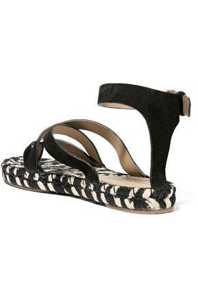 PROENZA SCHOULER Suede espadrille sandals