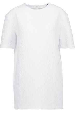 GIVENCHY Textured-satin top