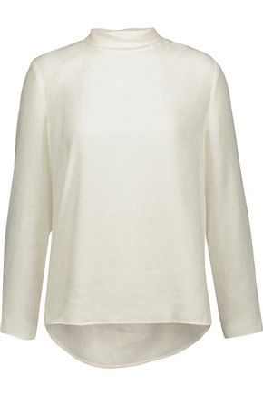 SANDRO Paris Astoria jacquard blouse