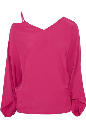 CHALAYAN Cutout crepe top