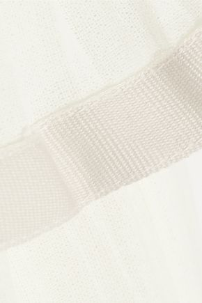 ISABEL MARANT Grayton ruffled cotton-gauze top