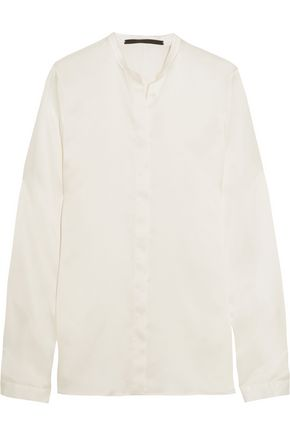 HAIDER ACKERMANN Classic silk-satin shirt