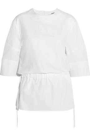JIL SANDER Cotton-poplin top