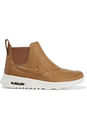 NIKE Air Max Thea leather slip-on sneakers