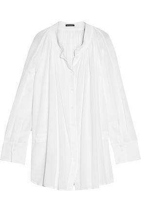 ANN DEMEULEMEESTER Cotton-voile shirt