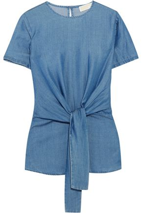 MICHAEL MICHAEL KORS Chambray top
