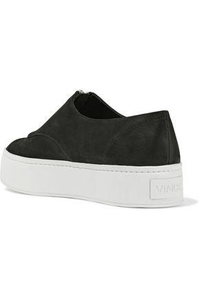 VINCE. Warner nubuck sneakers