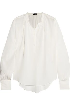JOSEPH Vita silk crepe de chine blouse