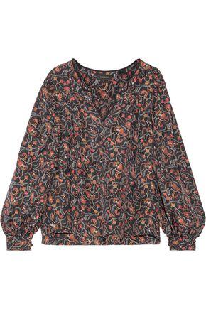 ISABEL MARANT Ryton printed silk blouse