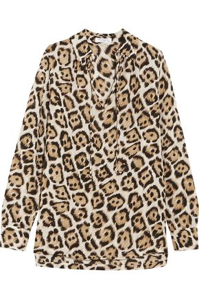 EQUIPMENT Bristol leopard-print silk blouse