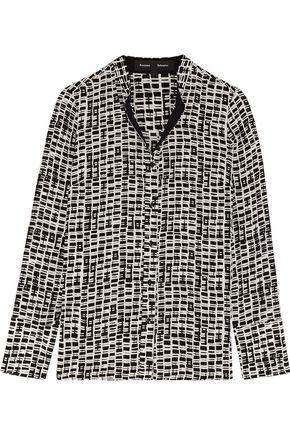 PROENZA SCHOULER Printed chiffon blouse