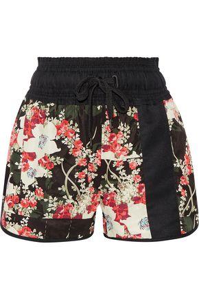 RAG & BONE Lennox floral-print satin-twill shorts