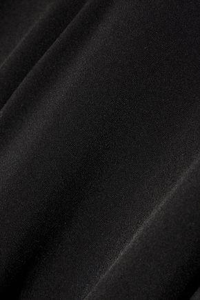 THE ROW Risia asymmetric stretch-jersey top