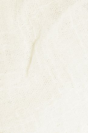 ENZA COSTA Cotton-cheesecloth top