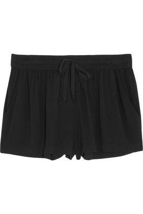 ENZA COSTA Challis drawstring woven shorts
