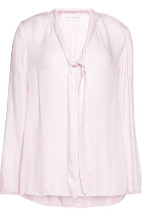 VELVET by GRAHAM SPENCER Jacquard blouse