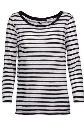 SPLENDID Striped jersey top