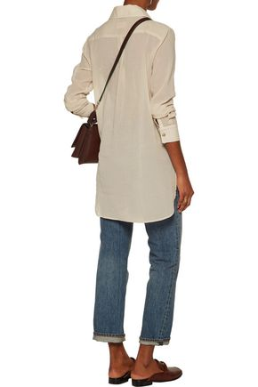SIMON MILLER Rowena cotton-voile shirt
