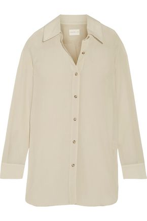 SIMON MILLER Rowena cotton-voile shirt