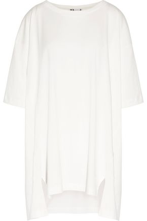 Y-3 + adidas Originals oversized printed cotton-jersey T-shirt