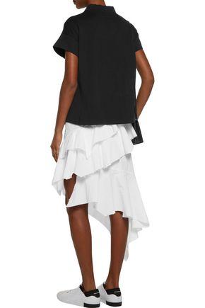 Y-3 + adidas Originals cotton-jersey top