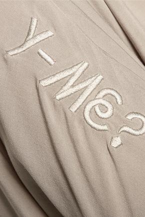 Y-3 + adidas Originals oversized voile top
