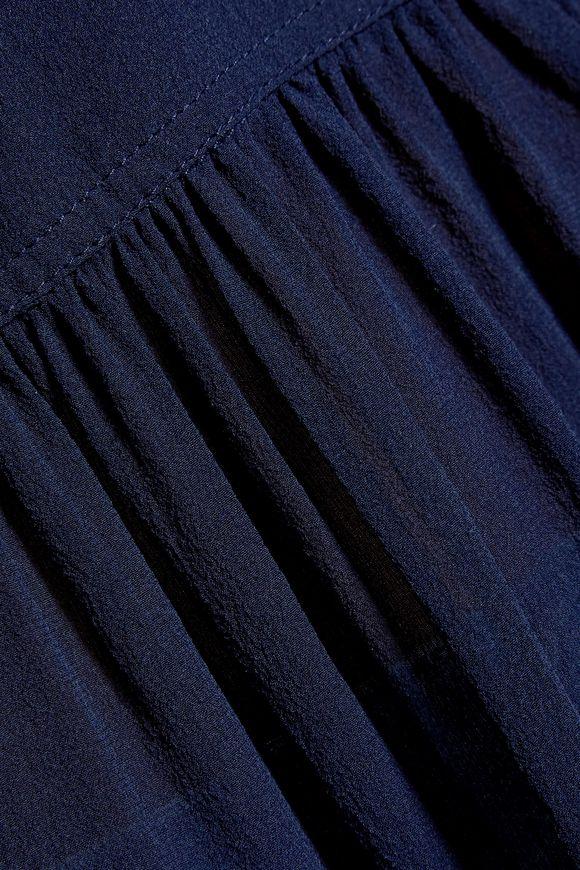 672dd37eaf4e7 Matara gathered silk-georgette blouse