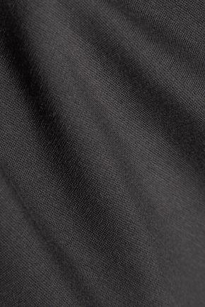 RAOUL Stretch cotton-blend jersey top