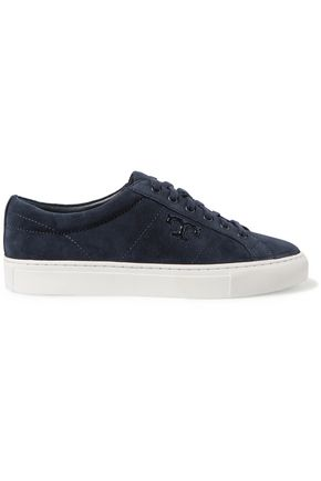 TORY BURCH Chace suede sneakers