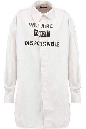 VIVIENNE WESTWOOD ANGLOMANIA Lottie printed denim shirt