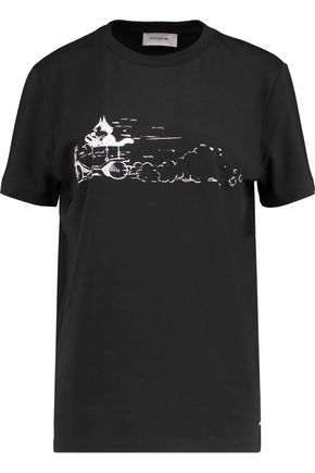COACH Felix Driving printed cotton-jersey T-shirt