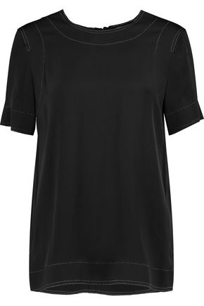 DKNY Stretch-silk top