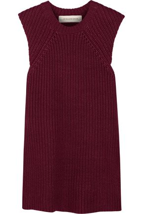 BY MALENE BIRGER Darlis ribbed-knit linen and cotton-blend tunic